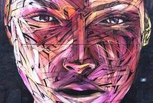 Bayonne streetart by Alex Hopare