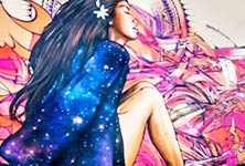 Tahiti Brok streetart by Alex Hopare