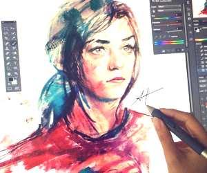 Arya Stark by Alice X Zhang