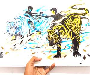 Destiny painting by Art Jongkie