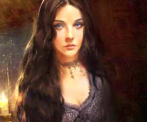 Ashara Dayne digitalart by Bella Bergolts