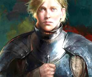 Brienne of Tarth digitalart by Bella Bergolts