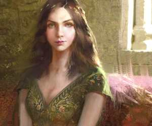 Margaery Tyrell digital art by Bella Bergolts