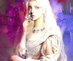 Shiera Targaryen digitalart by Bella Bergolts