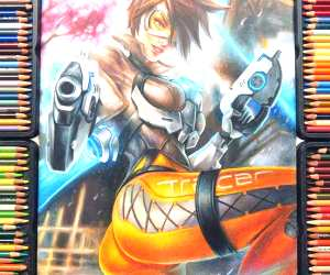 Tracer pencil drawing by Blondynki Tez Graja