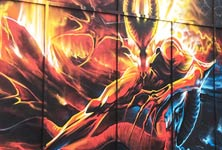 Meet of Styles streetart by Dan DANK Kitchener