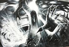 Trench spectre streetart by Dan DANK Kitchener