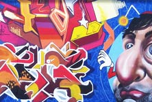 Cooperation crew graffiti by Fhero Art