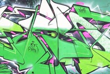 Graffiti wall graffiti by Fhero Art