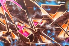 Graffiti wall 1 graffiti by Fhero Art
