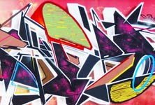 Graffiti wall 2 graffiti by Fhero Art