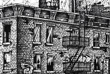 Ghetto TNKDLBL bombing sketch drawing by Lukas Lukero Art