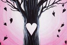 Love sometimes falls painting by Mirik Bodliak