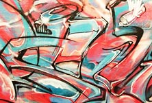 Graffiti mural 2 by Mr Shiz