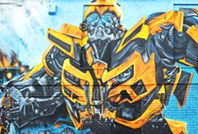 Transformers graffiti by Mr Shiz