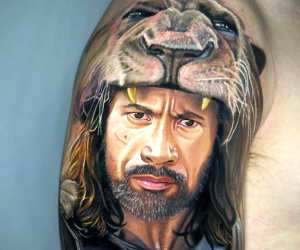 Hercules tattoo by Nikko Hurtado
