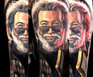 John Garcia  tattoo by Nikko Hurtado