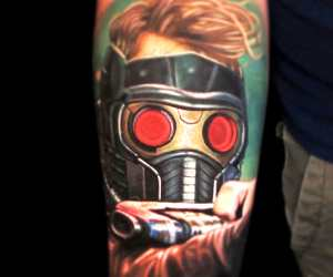 Star Lord tattoo by Nikko Hurtado
