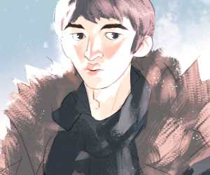 Bran Stark digitalart by Ramon Nunez