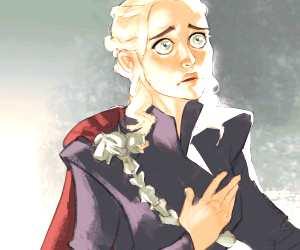 Daenerys Targaryen digitalart by Ramon Nunez