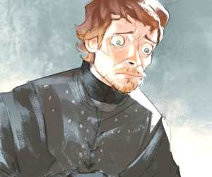Theon Greyjoy digitalart by Ramon Nunez