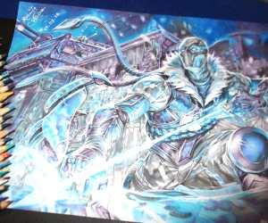 SubZero color drawing by Roberto Vieira