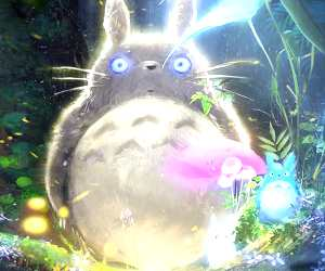 Totoro digitalart by Ross Draws