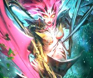 Zyra digitalart by Ross Draws
