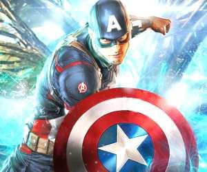 Captain America  by Rudy Nurdiawan