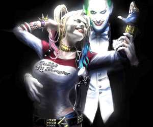 Joker and Harley Quinn digitalart by Rudy Nurdiawan