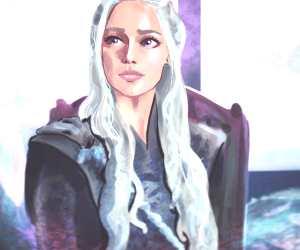 Daenerys Targaryen by Sarah Moustafa