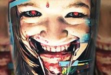 Horror tattoo by Valentina Ryabova