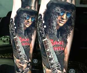 Slash tattoo by Valentina Ryabova