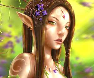 Forest Elf digitalart by Zarory Art